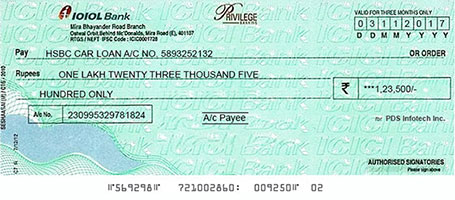 Say bye-bye to hand-written cheques
