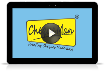View Presentation for error free Cheque Printing