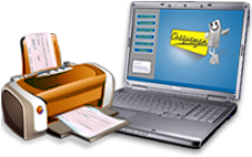 This Cheque printing software is compatible with most of the printers